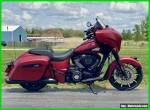 2021 Indian Chieftain Dark Horse Ruby Smoke for Sale