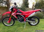 Honda CRF 250L 2019 **only 300 miles from new** for Sale