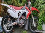 Honda crf450 motocross 2013 fuel injection **BARGAIN AT THIS PRICE** for Sale
