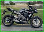 2021 Triumph Street Triple RS Silver Ice for Sale
