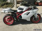 DUCATI 848 EVO 03/2011 MODEL 6588KMS PROJECT MAKE AN OFFER for Sale