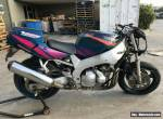 YAMAHA YZF600 YZF 600 01/1994MDL 55467 CLEAR PROJECT MAKE AN OFFER for Sale