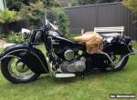1946 Indian Chief Motorcycle - Vintage Collectable 1200cc for Sale