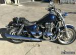 TRIUMPH THUNDERBIRD 01/2010 MODEL STAT PROJECT MAKE AN OFFER for Sale