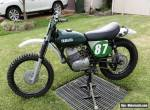 Yamaha DT1 250 1973 vmx classic dirt bike grass track for Sale