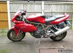 Ducati 900ss ie, Half faired model, W reg (2000). Good condition 9894 miles. for Sale