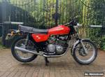 BENELLI 350 RS RARE SPOKED WHEELS 1977 RED for Sale