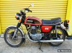 HONDA CB200 1975 RUNNING LOW MILEAGE EXAMPLE COMPLETE WITH V5 for Sale