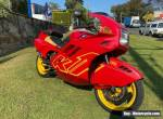 BMW K1 1990 Model 34,xxxKM Red And Yellow Non-ABS Model for Sale