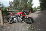 TRIUMPH STREET TRIPLE 660 LAMS APPROVED RED 2017 VERY CLEAN BIKE 675 for Sale